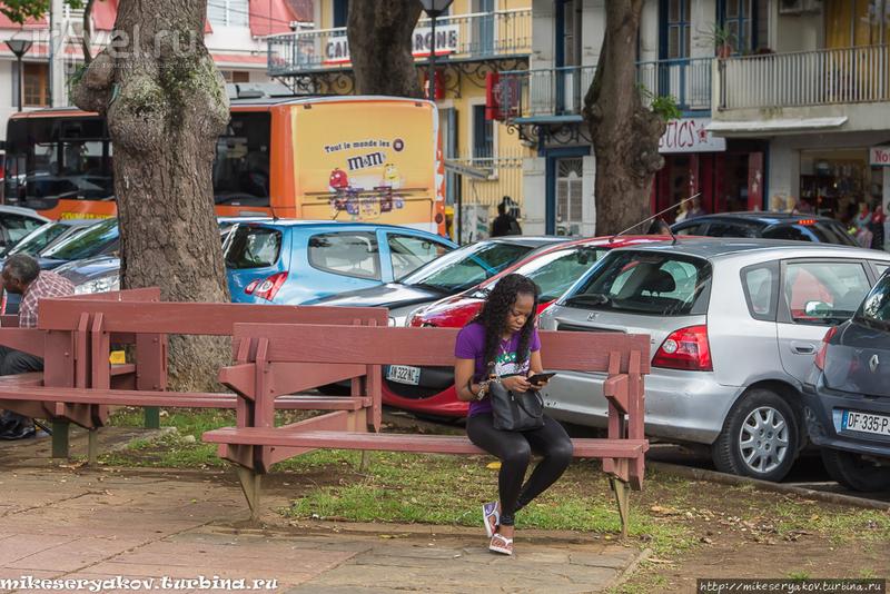 Круизная Гваделупа / Фото из Французской Гваделупы