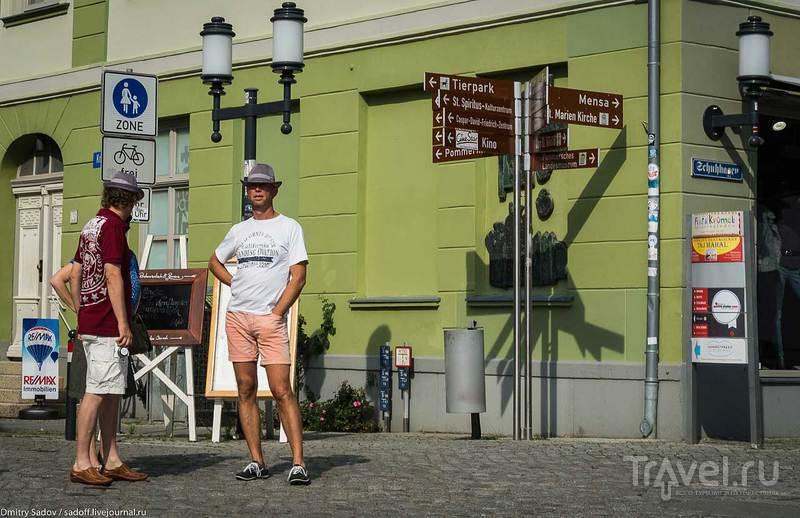 Жители ганзейского города Грайфсвальда / Германия