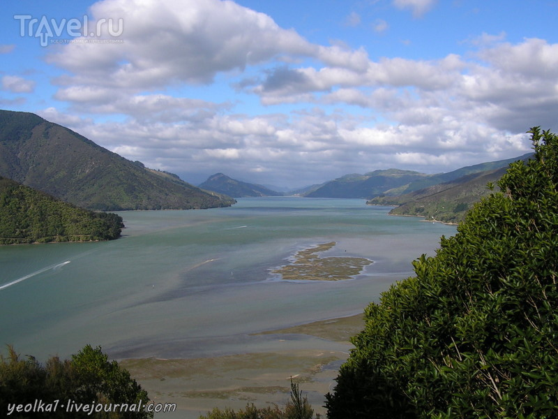 В стране антиподов. На севере Южного острова. Нельсон и окрестности / Новая Зеландия