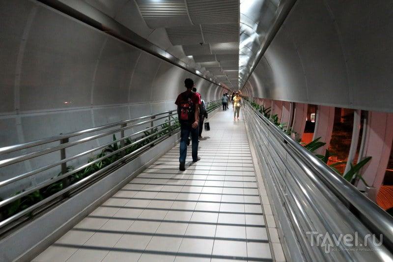 Ночной поезд из Сингапура в Куала-Лумпур / Малайзия