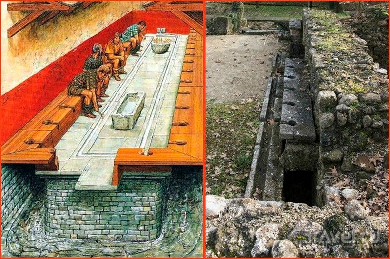 Без канализации нет цивилизации! Общественные туалеты и канализация древней Греции / Греция