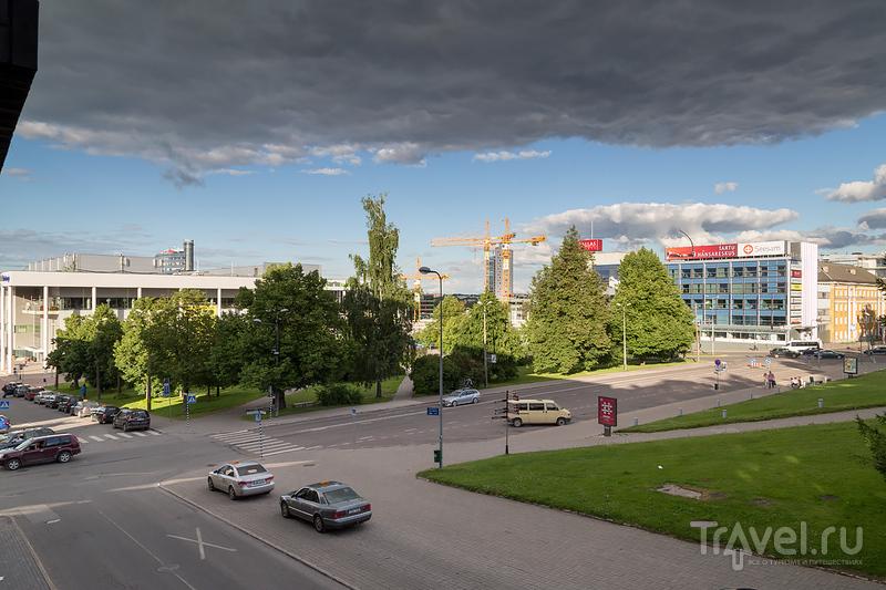 Прогулка по центру Тарту / Фото из Эстонии