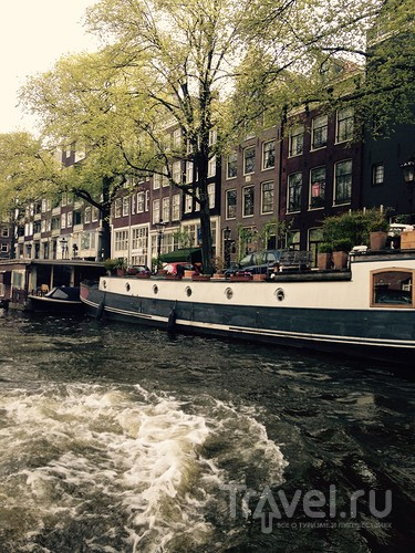 Водная прогулка по Амстердаму / Нидерланды
