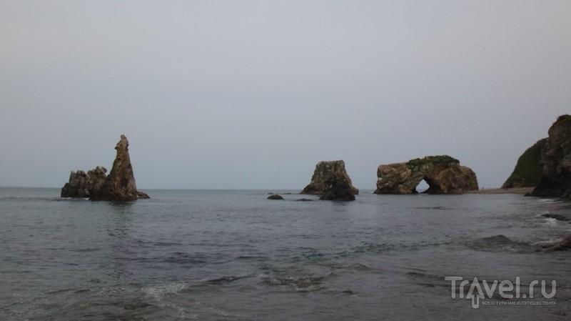 Сахалин. На берегу Охотского моря / Россия