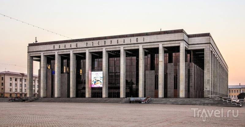 Минск утром и вечером / Фото из Белоруссии