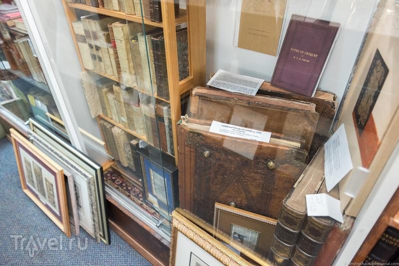 Антикварный книжный магазин в Бостоне / США