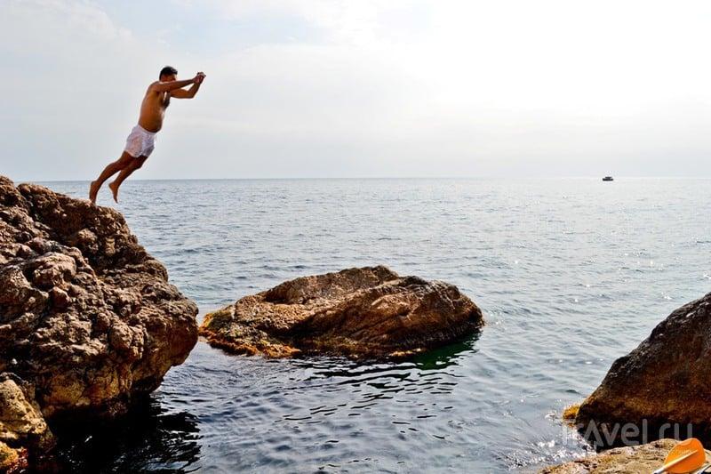 Крым. Три дня в бухте Листригонов / Фото из России