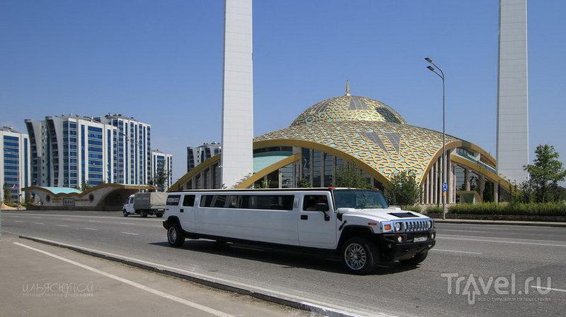 Чечня: машины и дороги / Россия