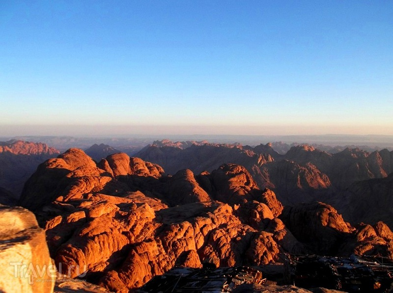 Гора Моисея - место, где отпускаются грехи / Египет