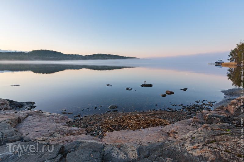 Лучшее место для комфортного отдыха на Ладоге / Фото из России