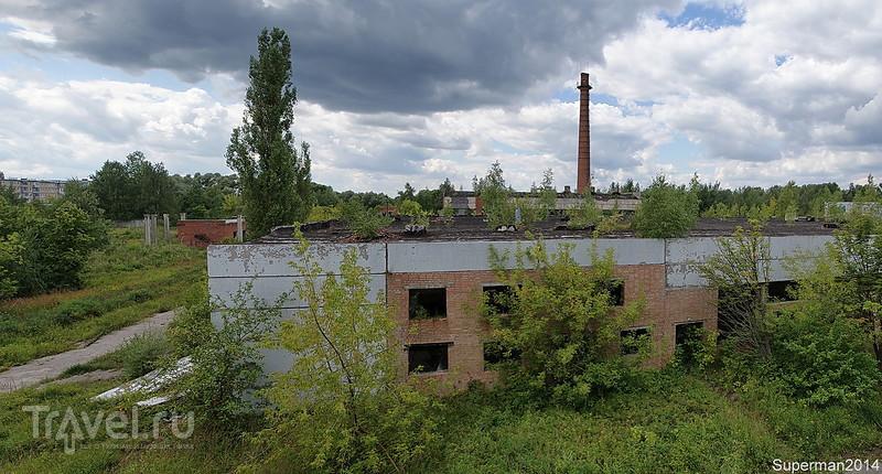 Заброшенный молокозавод в Кабаново / Россия