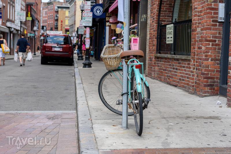 Велосипедный Бостон / США