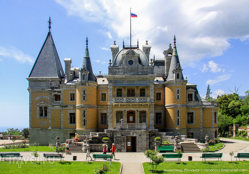 Царский дворец в Массандре / Фото из России