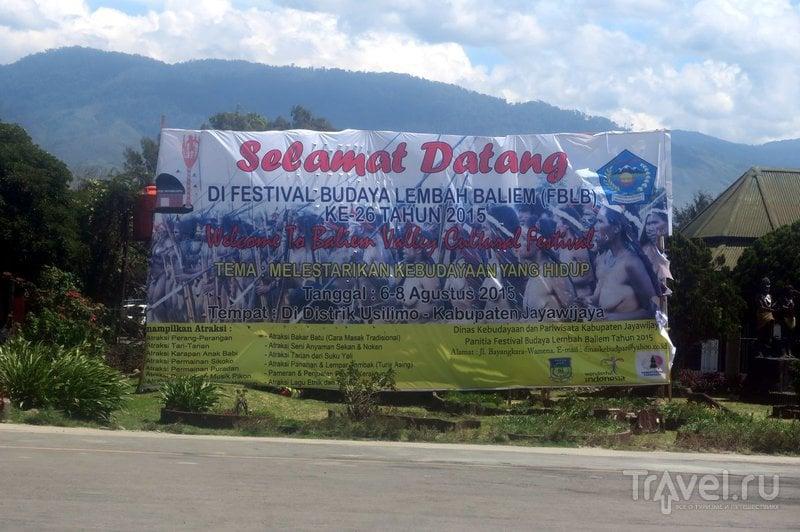 Индонезия: Долина Балием - затерянный мир / Фото из Индонезии