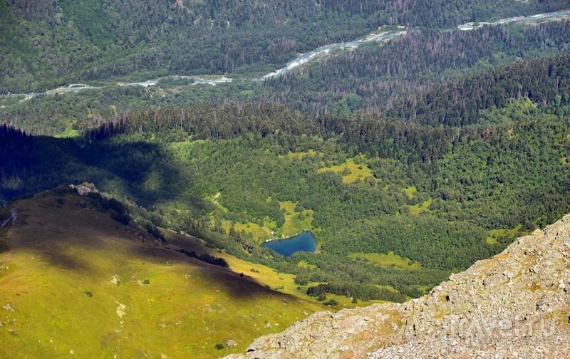 Домбай: горные пейзажи / Россия