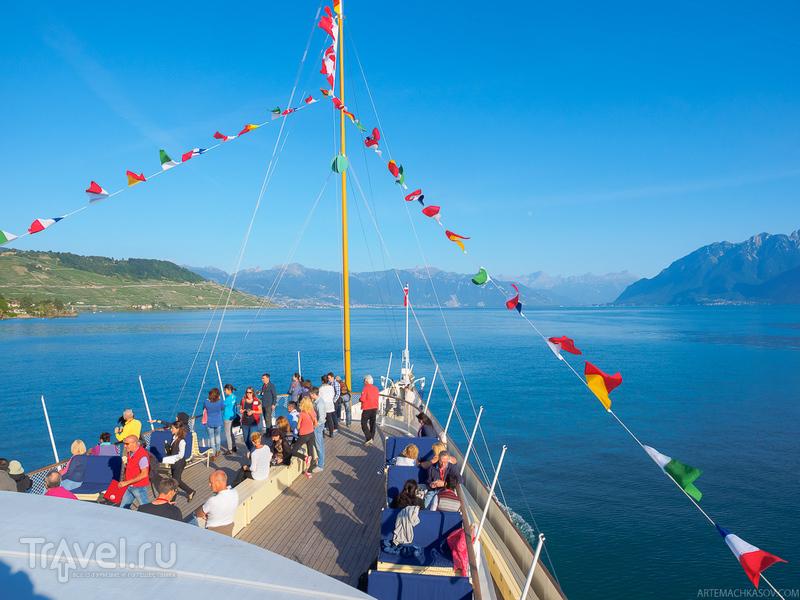 Путешествие на колесном пароходе / Фото из Швейцарии