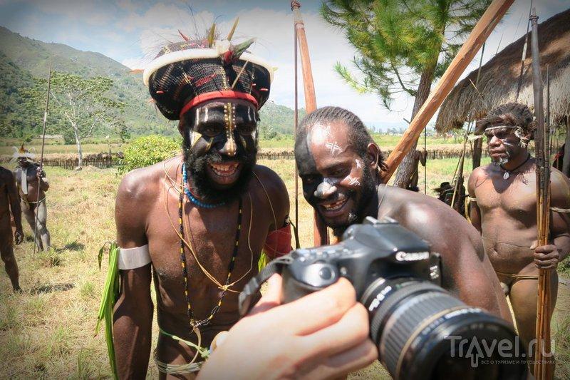 Индонезия: Папуасский фестиваль долины Балием / Индонезия