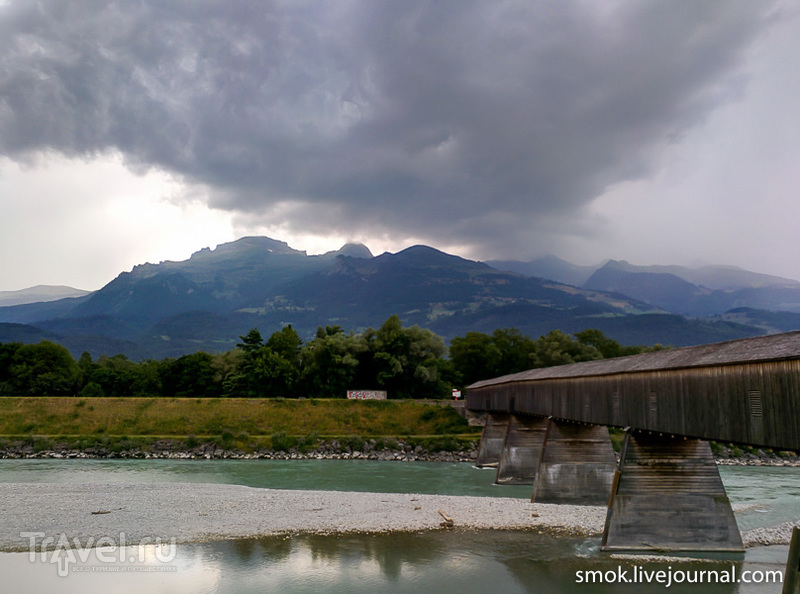 Один день в Лихтенштейне / Фото из Лихтенштейна