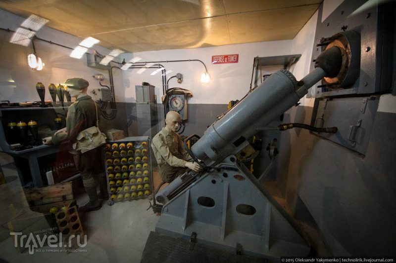 Музей фортификации форта Фермонт / Фото из Франции