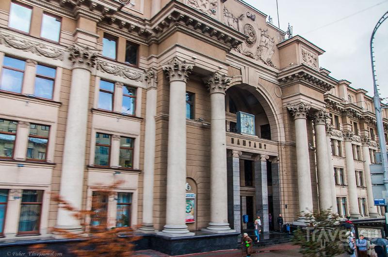 Minsk City Tour. Взгляд на Минск из окна экскурсионного автобуса / Фото из Белоруссии