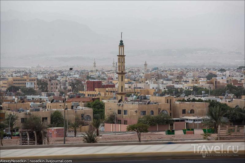 Типичный ближневосточный город глазами москвича / Фото из Иордании