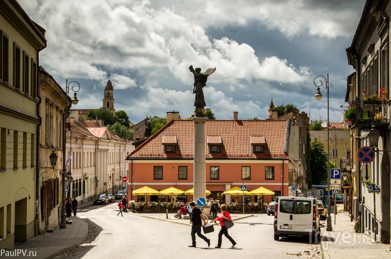 Вильнюс. На выходе из старого города / Литва