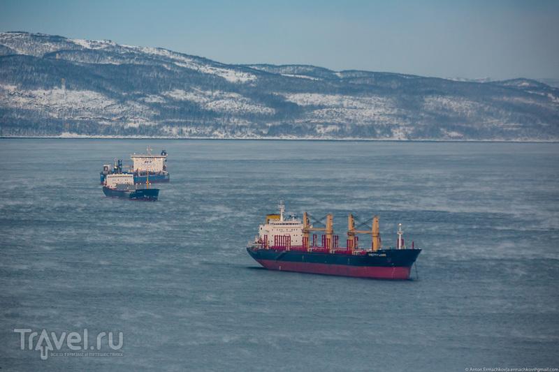 В погоне за северным сиянием. Мурманск / Фото из России