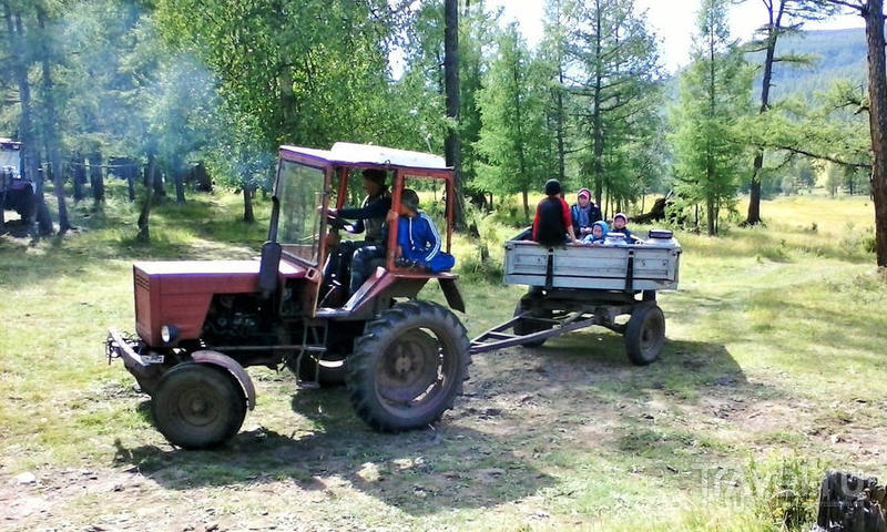 Поездка на Урда-гольский аршан / Россия