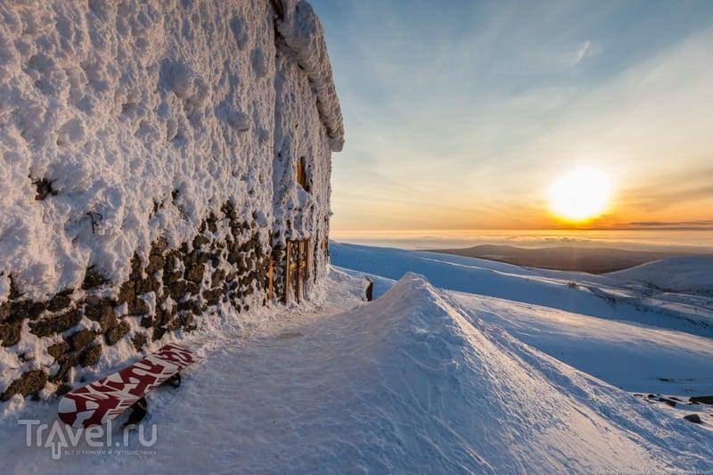 В погоне за северным сиянием. Кировск / Фото из России