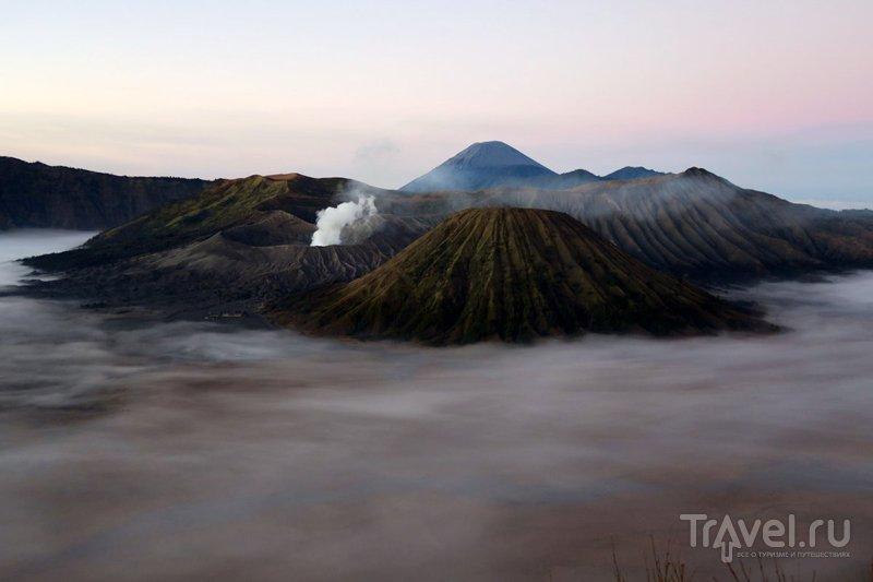 Ява: Вулкан Бромо издалека и поближе / Фото из Индонезии