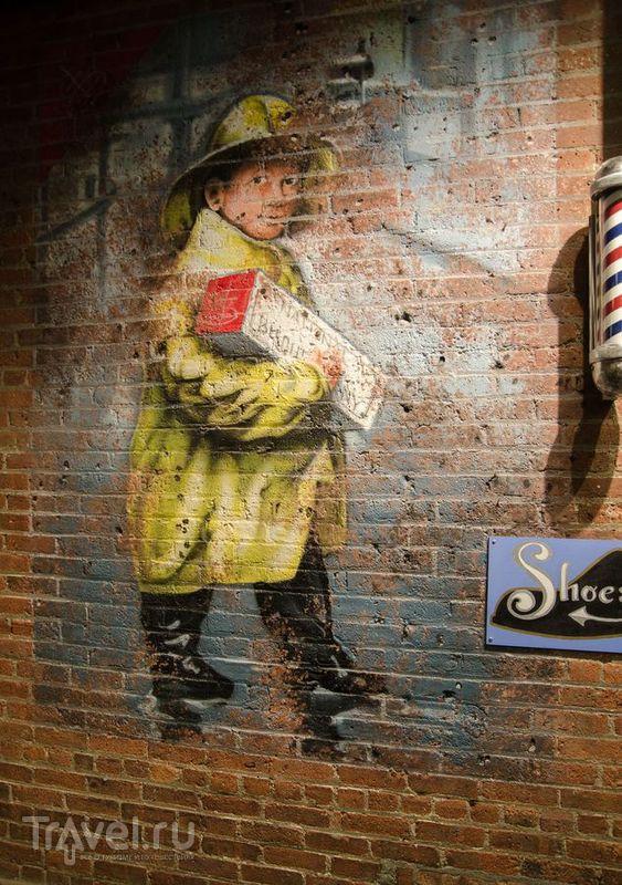 Нью-Йорк: Челси-маркет / США