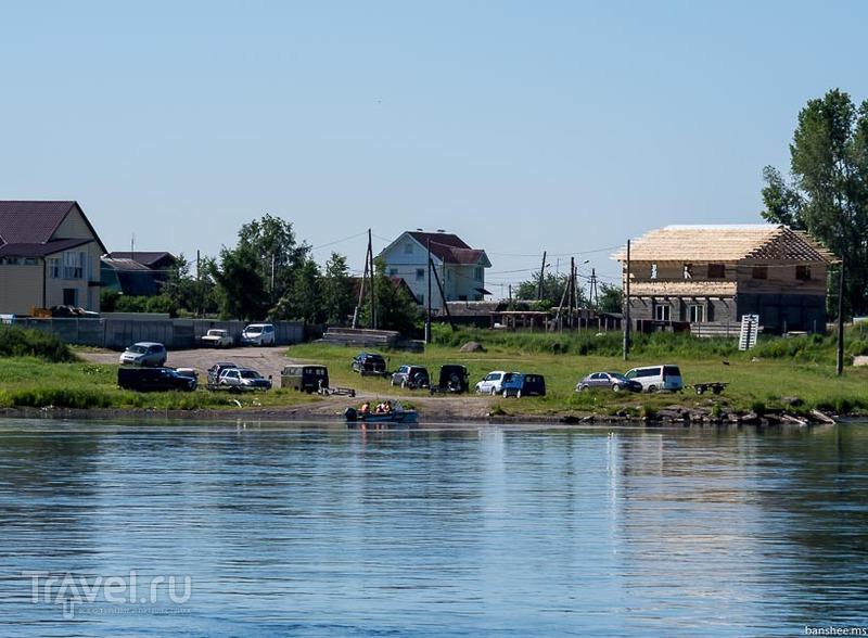 Енисей, от Красноярска до окрестностей Железногорска / Фото из России