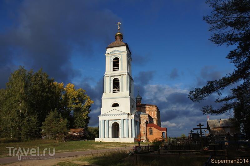 Храм Вознесения Господня на Борисоглебском погосте / Россия