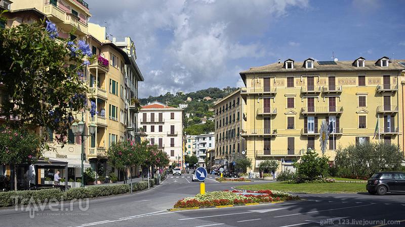 Неожиданная прогулка по Санта-Маргерита-Лигуре / Фото из Италии