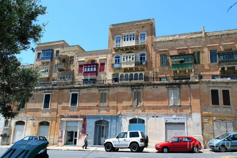 Валлетта, Мальта - Мемориальный комплекс и сад Lower Barrakka Gardens / Мальта
