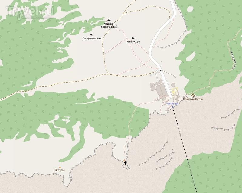 Крым, пещеры Ай-Петри - Геофизическая, Трехглазка и Ялтинская / Фото из России