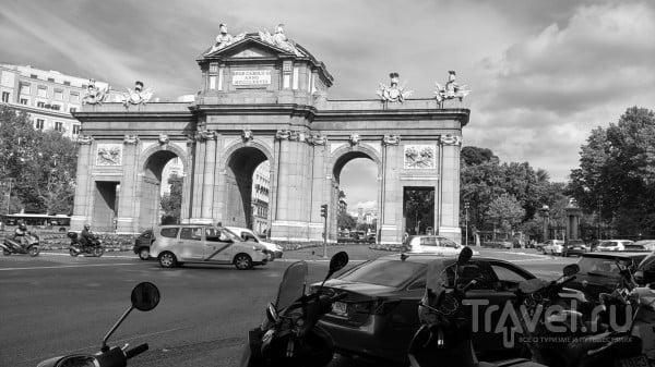 Москва-Мадрид на мотоцикле / Польша