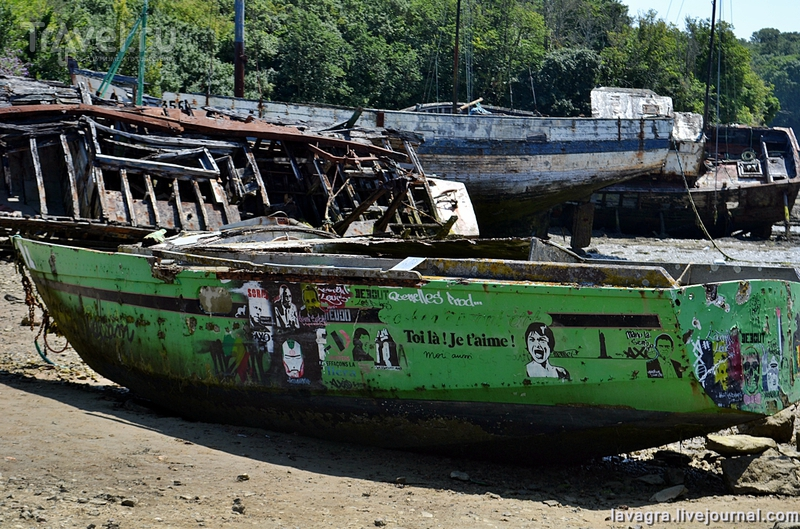 Кладбище кораблей в Сен-Мало или место, где заканчивается морская романтика / Фото из Франции