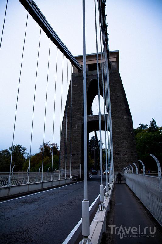 Clifton Bridge  в Бристоле / Великобритания