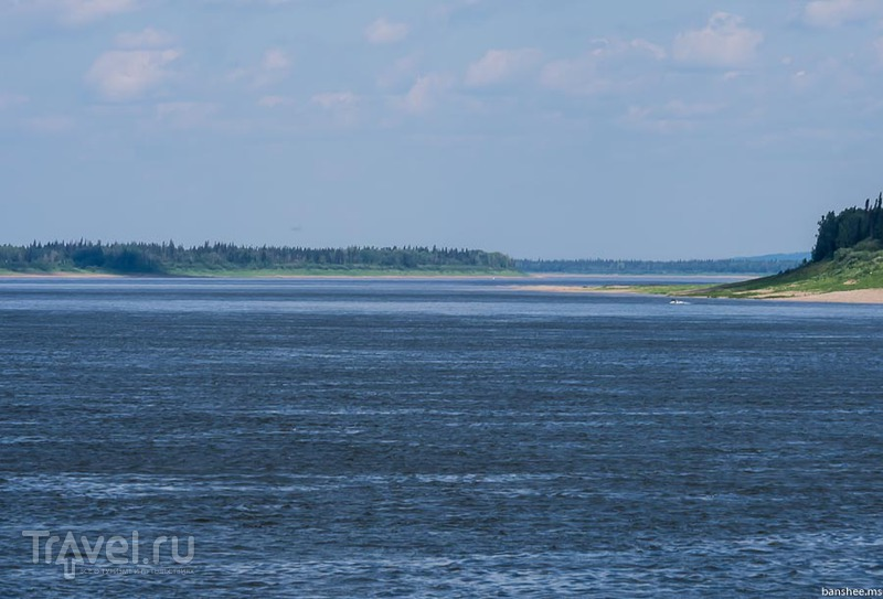 Енисей, Ворогово / Фото из России