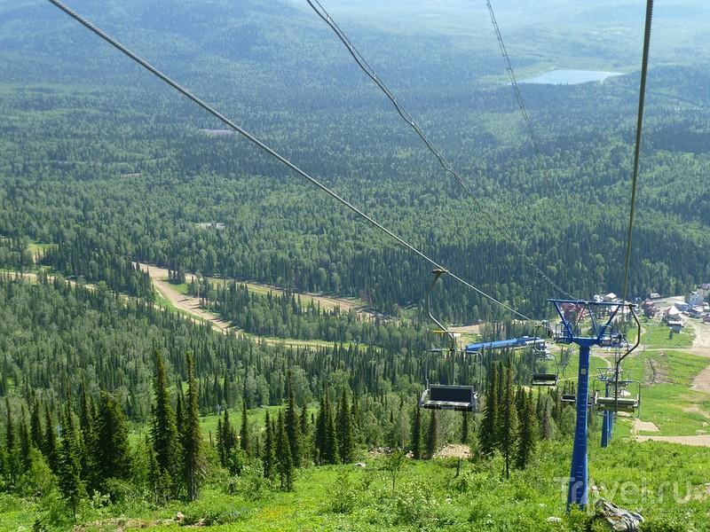 Шерегеш - гора Зеленая / Фото из России