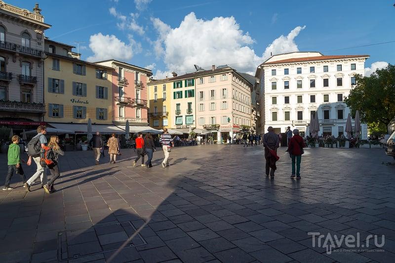 Туристическая часть Лугано и города Парадизо / Фото из Швейцарии