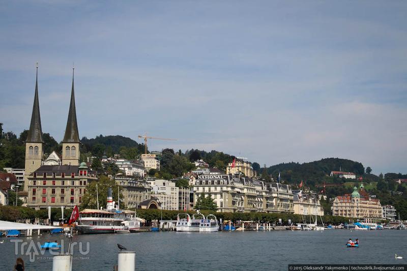 Прогулка по Люцерну / Фото из Швейцарии