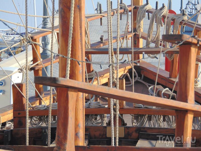 Киренийский корабль в Лимассоле / Кипр