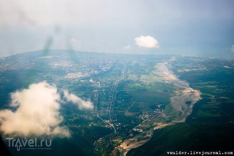 Абхазия с высоты выше птичьего полёта / Абхазия