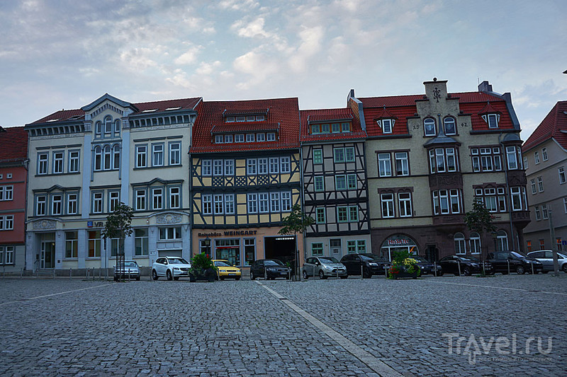 Мюльхаузен - город без людей / Фото из Германии