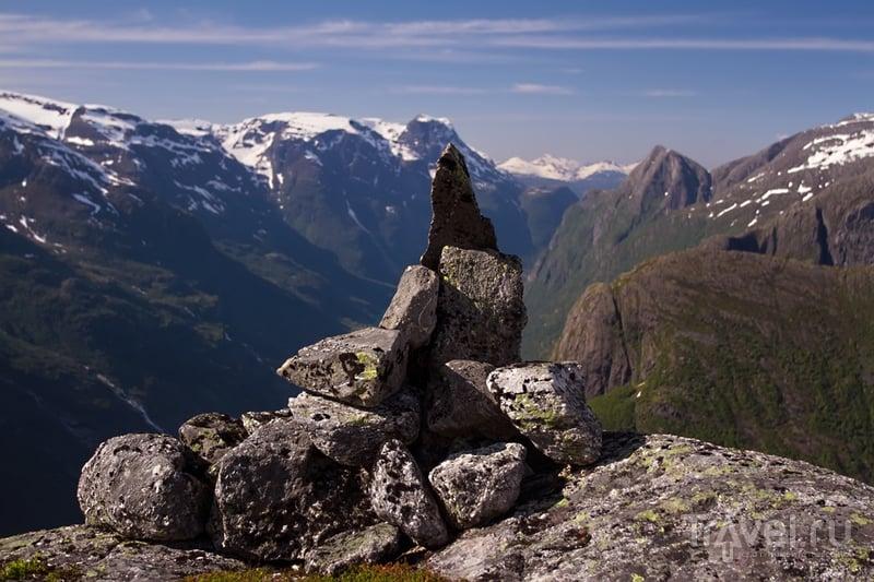 Норвегия - трек на Kattanakken / Фото из Норвегии