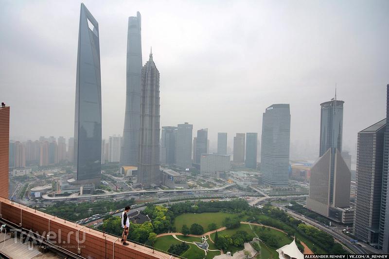 Высотный Шанхай / Фото из Китая