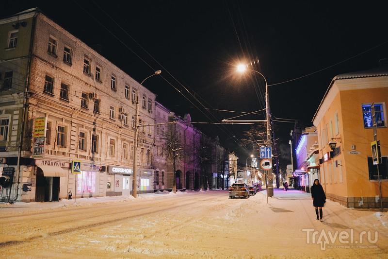 Ночной Рыбинск / Россия
