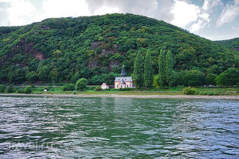 Круиз по Рейну от Санкт-Гоара до Рюдесхайма-на-Рейне / Германия